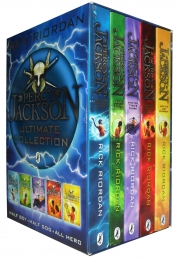Percy Jackson Complete Series Collection 5 Books Box Set by Rick Riordan