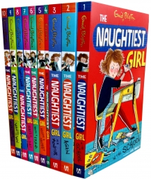Enid Blyton Books - The Naughtiest Girl (Series 1 to 10) 10 Books Collection Set by Enid Blyton