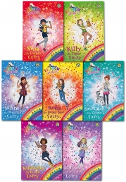 Rainbow Magic Series 20 Baby Animal Rescue Fairies Books Collection Set Pack Books 134 to 140 by Daisy Meadows