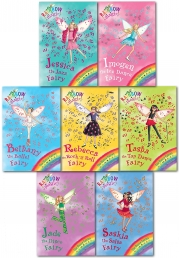 Rainbow Magic Series 8 Dance Fairies Collection 7 Books Pack Set (Books 50 To 56) by Daisy Meadows