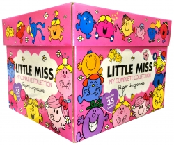 Little Miss Books My Complete Collection 35 Books Box Set Photo