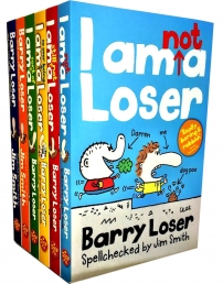 Barry Loser Collection Jim Smith 6 Books Set by Jim Smith