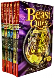 Beast Quest Series 8 6 Books Collection Pack Set Photo
