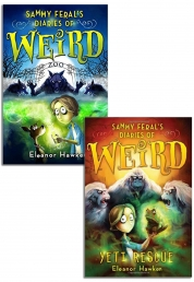 Sammy Ferals Diaries of Weird Collection Eleanor Hawken 2 Books Set by Eleanor Hawken
