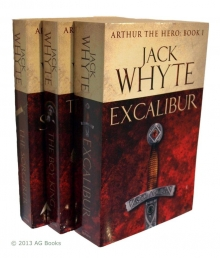 Arthur The Hero Series Collection Jack Whyte 3 Books Set by Jack Whyte
