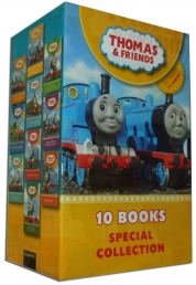 Thomas and Friends Collection 10 Books (Thomas and the Circus; Emily's New Route; Henry and the Flagpole; Thomas, Percy and the Funfair; Thomas an by Various