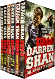 Zom B (Zombies, Walking Dead, Resident Evil) New Series 6 Books Set Collection by Darren Shan (ZOM-B, Angels, City, Underground, Baby and Gladiator) by Darren Shan