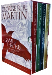 A Game of Thrones Graphic Novel 4 Books Collection Box Gift Set by George R.R. Martin