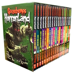 Goosebumps Horrorland Series Collection R. L. Stine 18 Books Box Set Photo