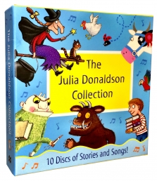 Julia Donaldson Audio Collection 10 CD Box Set Stories & Songs Gruffalo, Child by