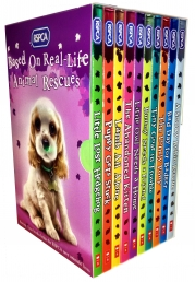 RSPCA Animal Rescue Pets 10 Childrens Books Collection Set Photo