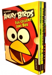Angry Birds Joke Book Collection 3 Books Set-Slipcase-Angry Birds Seasons Joke Book, by Angry Birds