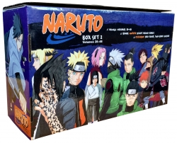 Naruto Box Set 2 28-48 Complete Childrens Gift Set Collection Masashi Kishimoto Photo