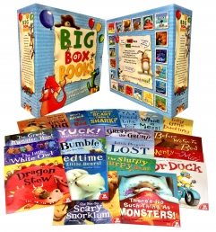 My Big Box of Books Collection 20 Books Box Set Children Reading Bedtime Stories Photo