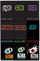 Gone and BZRK Series Michael Grant Collection 9 Books Set by Michael Grant