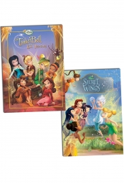 Disney Princess, Fairies Magical Story, Children Collection, 2 Books Set (Tinker Bell and the Lost Treasure, Tinker Bell and Secret of Wings) by Disney
