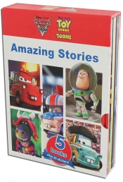 Disney Amazing Stories From Cars and Toy Story Characters (5 Books Box Gift Set Collection) by Disney