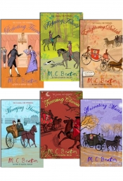 M.C. Beaton The School For Manners 6 Books Collection Set Pack by M.C. Beaton