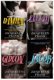 Jacquelyn Frank The Night Walkers Series Collection 4 Books Set by Jacquelyn Frank