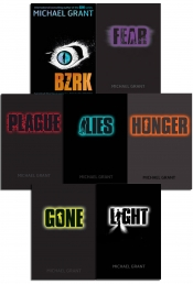 Gone series Michael Grant Collection 7 Books Set Light Hunger Lies Plague BZRK by Michael Grant
