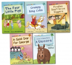 Early Readers Collection 5 Books Box Set Children's Gift Pack by Various