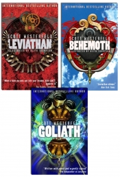 Scott Westerfeld Leviathan Trilogy Collection 3 Books Set by Scott Westerfeld