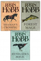 Robin Hobb Soldier Son Trilogy Collection 3 Books Set (Shaman's Crossing, Forest Mage, Renegade's Magic) Photo