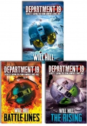 Department 19 Series Will Hill 3 Books Collection Set by WILL HILL
