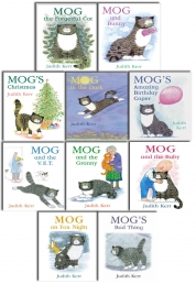 Mog the Cat Collection Judith Kerr 10 Books Set Photo