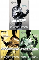 Young Bond Series Collection Charlie Higson 3 Books Set by Charlie Higson