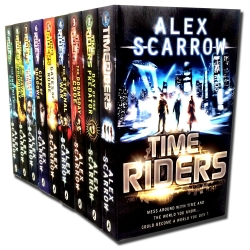 Time Riders Collection Alex Scarrow 9 Books Collection Set Pack Photo