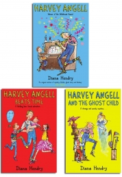 Harvey Angells Collection 3 Books Set by Diana Hendry