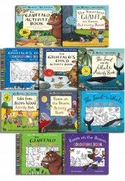 The Gruffalo Children Activity Collection 10 Books Christmas Gift Set by Julia Donaldson