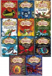 How to train your Dragon 11 Books Collection Photo