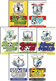 Jamie Johnson Football Series 7 Book Collection Set by Dan Freedman