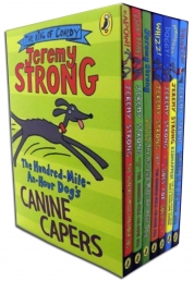 Jeremy Strong The Hundred-Mile-An-Hour Dog Collection 7 Books Box Set Pack by Jeremy Strong