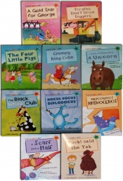 Schools Read at Home Early Readers 10 Book Banded Picture book Gift Set Pack by Alex English