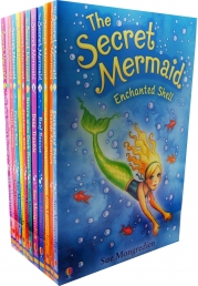 The Secret Mermaid Collection By Sue Mongredien 12 Books Set Collection Pack by Sue Mongredien