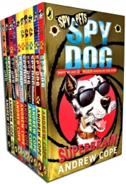 Spy Dog Andrew Cope Collection 10 Books Set Photo