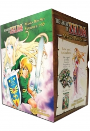 The Legend of Zelda Box Set 1-10 Manga Akira Himek Photo