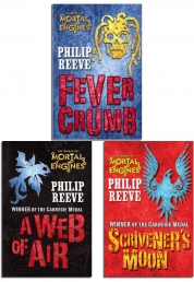 Mortal Engines Collection Philip Reeve 3 Books Set Pack Children Trilogy by Philip Reeve