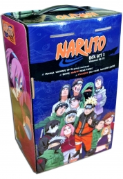 Naruto Box Set 3 - 49-72 Complete Childrens Gift Set Collection Masashi Kishimoto Photo