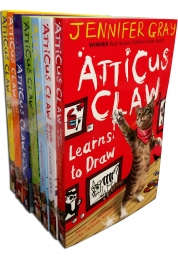 Atticus Claw 7 Books Set Collection By Jennifer Gray Photo