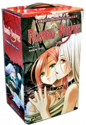 Rosario Vampire Complete Box Set: Season I &  II Children Collection Manga Books Set by Akihisa Ikeda