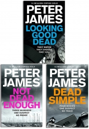 Peter James Roy Grace Series 3 Books Collection Set by Peter James