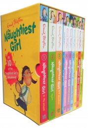 Enid Blyton The Naughtiest Girl Collection 10 Books Box Set by Enid Blyton
