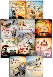 The Usborne History of Britain 10 Books Collection Box Set by Usborne