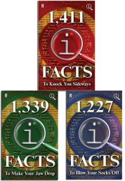 QI Fact Collection 3 Books Set By John Lloyd by John Lloyd
