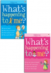 Usborne What's happening to me? Boys and Girls Photo