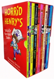 Horrid Henry Books Totally Terrible Tales 10 Books Collection Box Set Francesca Simon by Francesca Simon